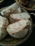 Organic slow-fermented sourdough bread